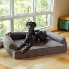 How To Fix A Sofa Spring Piper Sectional Grey Snoozer Luxury Dog With Memory Foam | Pet Couch