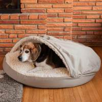 Snoozer Luxury Orthopedic Cozy Cave Dog Bed | 30+ Colors