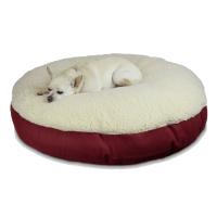 round dog bed cover