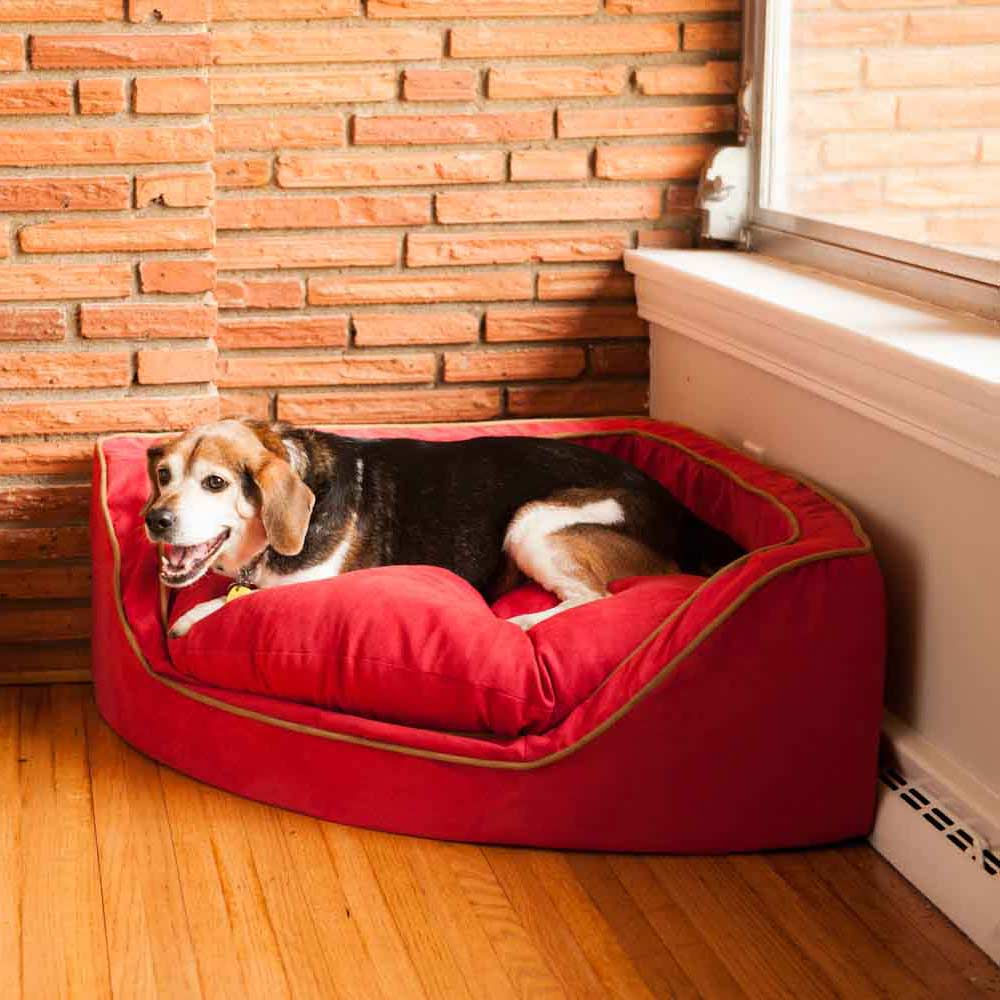 Replacement Cover Snoozer Luxury Overstuffed Corner Dog