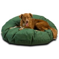 Replacement Cover - Outdoor Waterproof Round Dog Bed ...