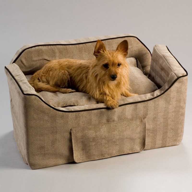 Snoozer Large Luxury Lookout II Dog Car Seat w Microsuede