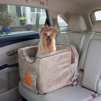 Snoozer Lookout II Dog Car Seats | Safe, Dog Car Booster Seats