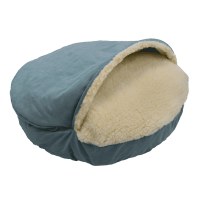Snoozer Luxury Cozy Cave Dog Bed | 28 Colors/Fabrics | 3 Sizes