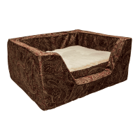 Snoozer Luxury Square Dog Bed with Memory Foam | Show Dog ...