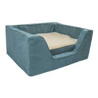 Luxury Square Dog Bed with Memory Foam by Snoozer Pet Products