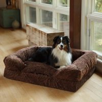 Snoozer Overstuffed Sofa Pet Bed Snoozer Overstuffed ...