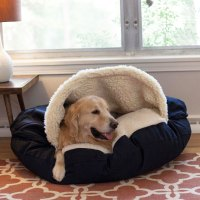 Snoozer Luxury Orthopedic Cozy Cave Dog Bed