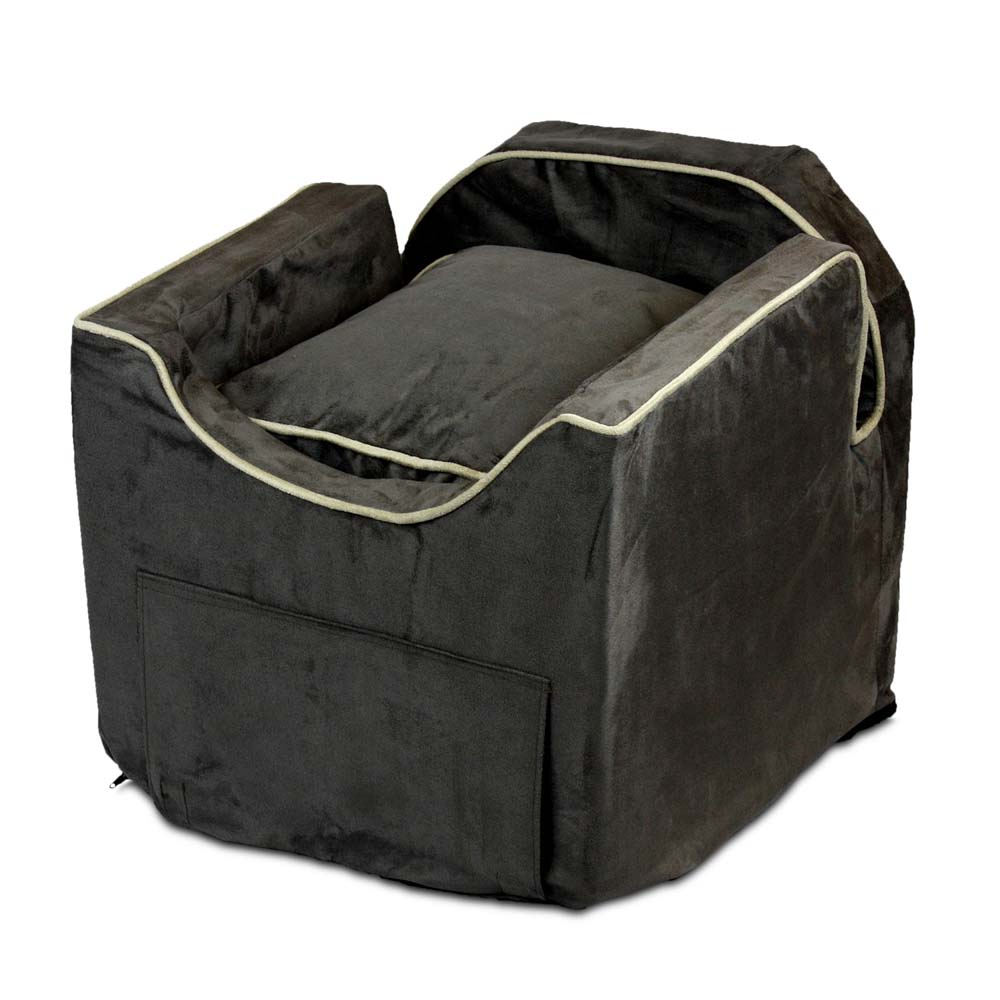 snoozer luxury lookout ii dog car seat with microsuede