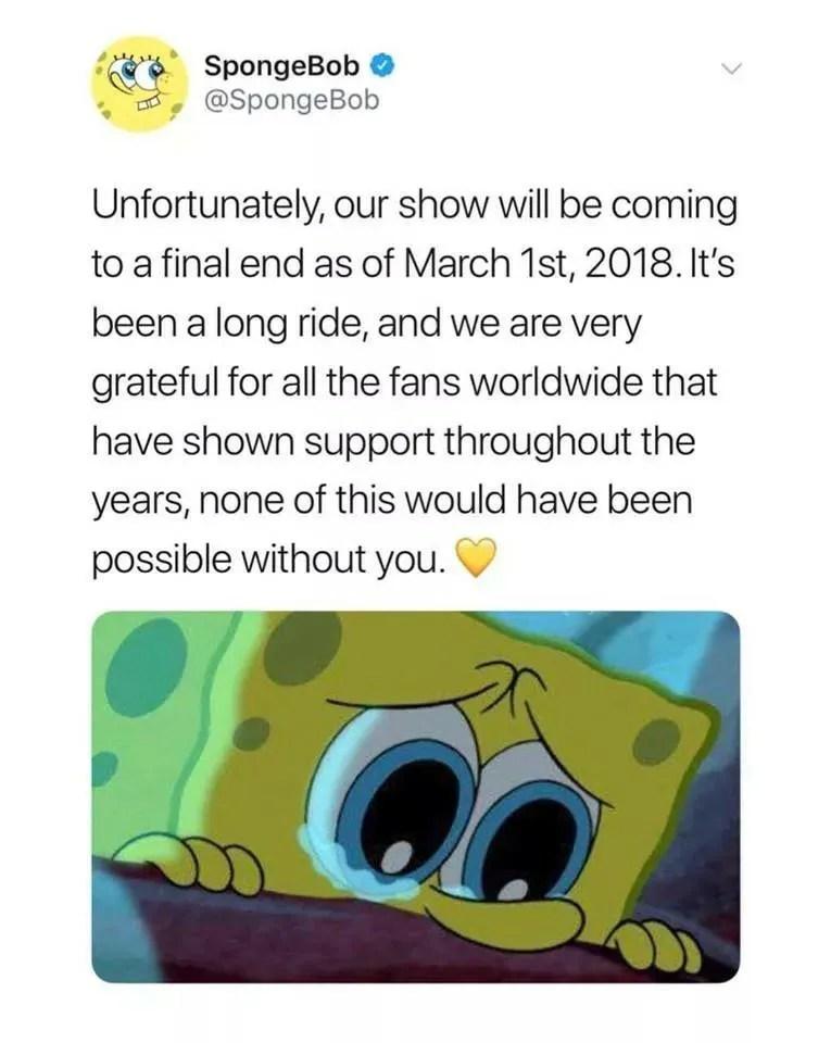 Spongebob Being Canceled : spongebob, being, canceled, SpongeBob, SquarePants, Cancelled?, Snopes.com