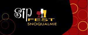 Sip Fest Snoqualmie Logo