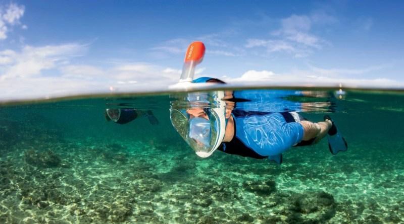 Decathlon Easybreath - Mask - Snorkel Combo