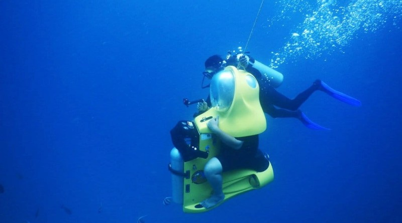 Aquabike adventure -Explore Bora bora on a different way