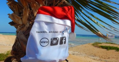 Christmas ideas for snorkellers - Give personally and useful