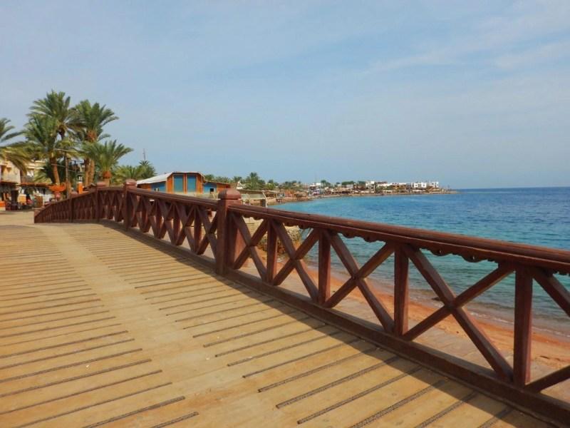 Dahab Egypt - Dahab promenade