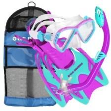 US Divers Junior Snorkel Set with Dry Top
