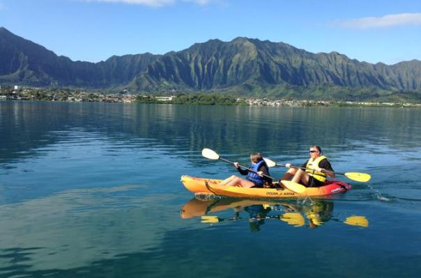 Snorkel Tour Oahu from Kaneohe Bay to Coconut island