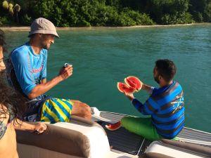 Watermelon & Snorkelling