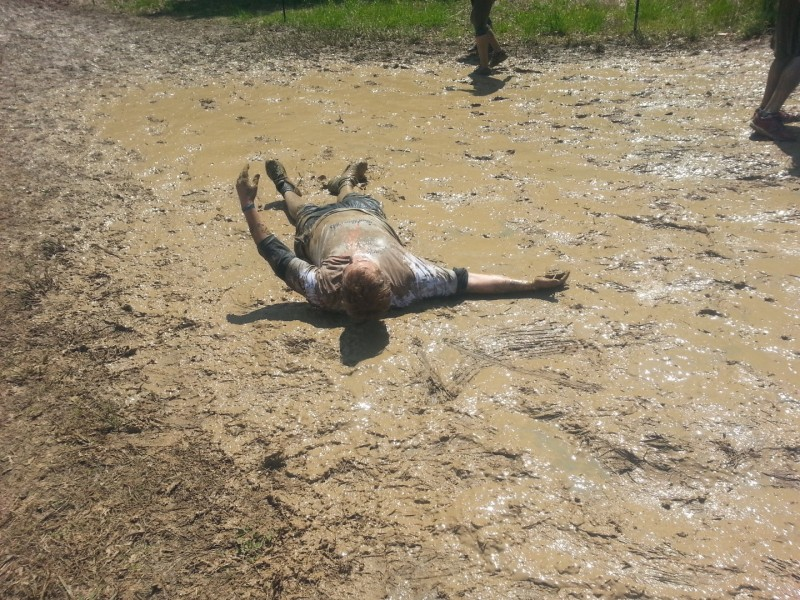 Look, another mud angel by Hogan Haake