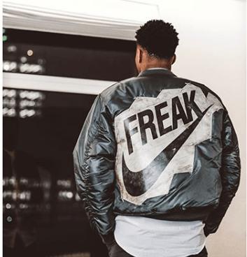 hot sale online 21152 28460 Needed Giannis' 'Freak' Jacket Yesterday — SnoTapWI