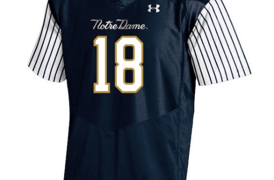 new style 2f0e3 e52cf Notre Dame's Yankees-Inspired Jerseys are Offensive — SnoTapWI