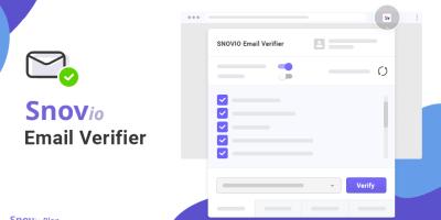 Snovio Verifier Released! A Tool For Those Who Deserve More.