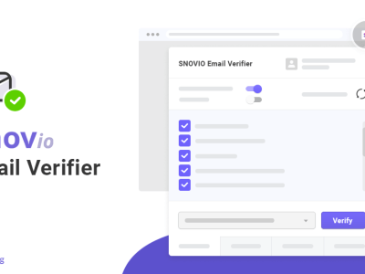 Snovio Verifier Released! A Tool For Those Who Deserve More.