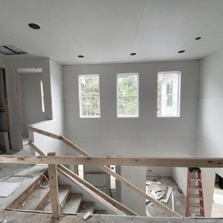 Milestone: Insulation and Drywall