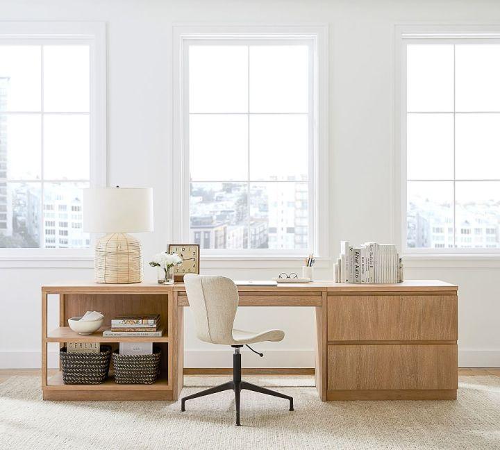 Boho-Chic Home Office