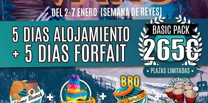 Fresh Camps. Viaje a Vars. Semana de Reyes (2-7 de Enero)