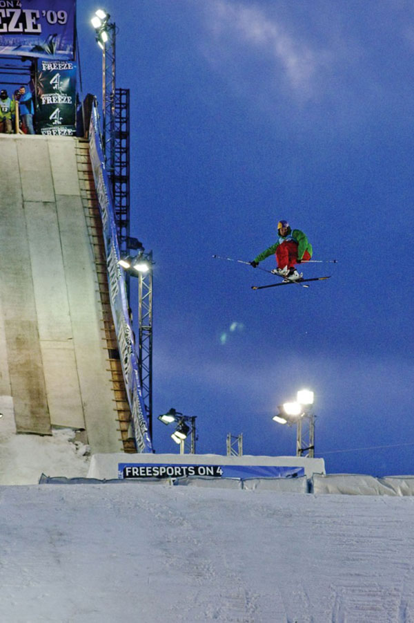 Russ Henshaw wins London Freeze Big Air