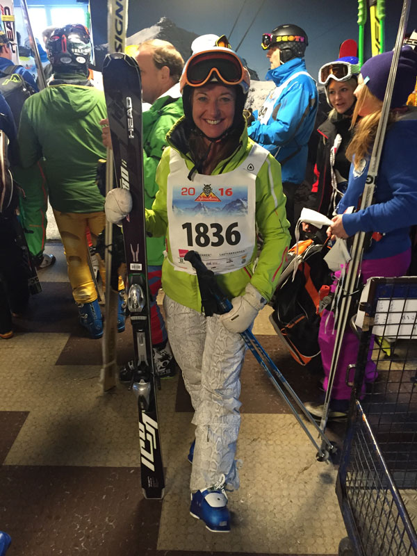 2016 Celebrity entries included Pippa Middleton and Snow Action's Bronwen Gora
