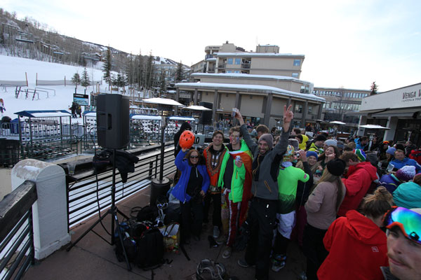 Venga Venga is #1 après spot at Snowmass
