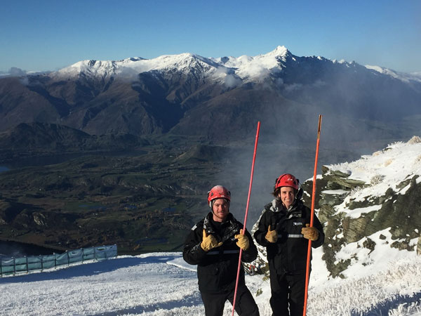Happy-Coronet-Peak-snow-making-team-members-Jake-Reilly-(L)-and-Lucy-Ruck-(R)