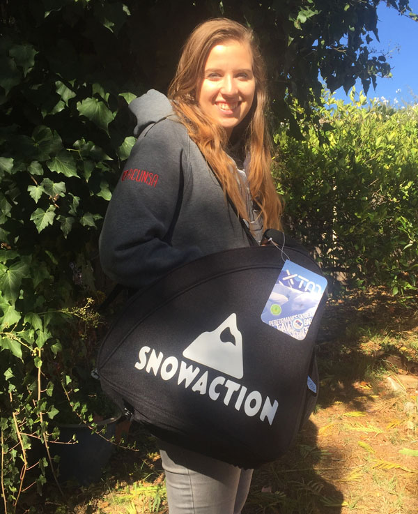 FREE XTM Snow Action boot bag with 2 year subs at the Snow Expos!