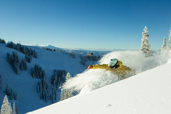 Doesn't get better than this  © Aspen Snowmass