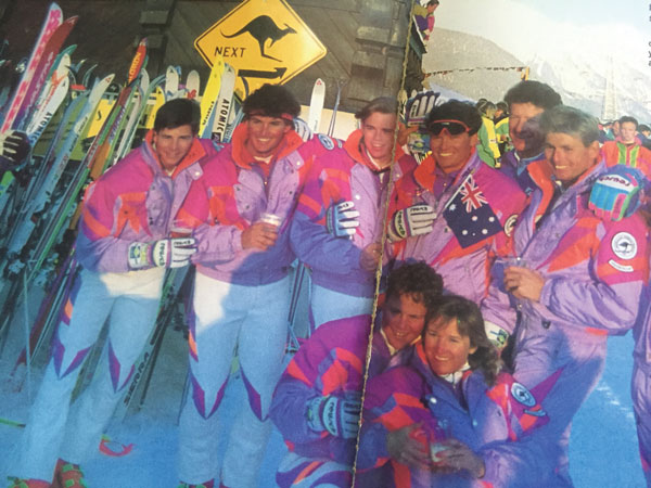 Interski St Anton 1991 was the first time Australia sent a team © Owain Price