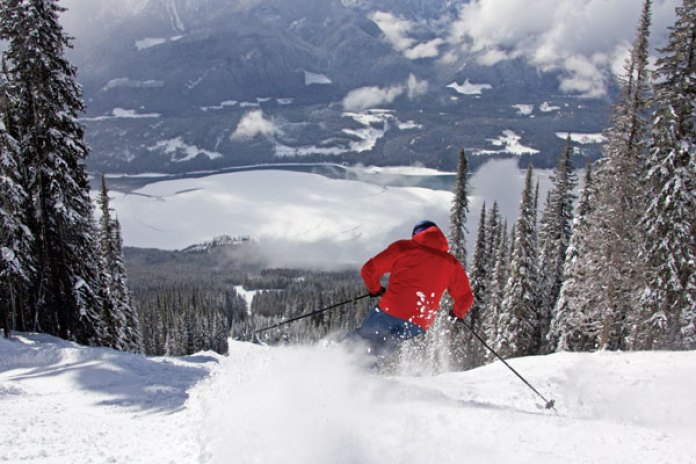 Skiing Revelstoke