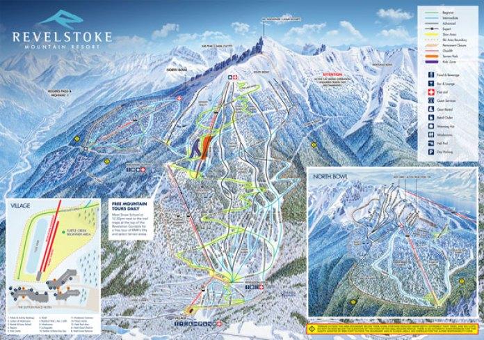 Revelstoke Trail Map