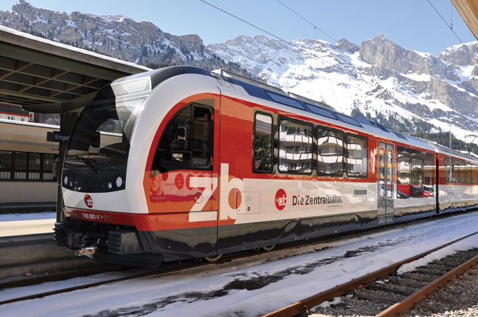 Zentralbahn runs from Lucerne to Engelberg in 45 minutes