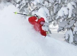 Japanese ski guides Riki Nakajima