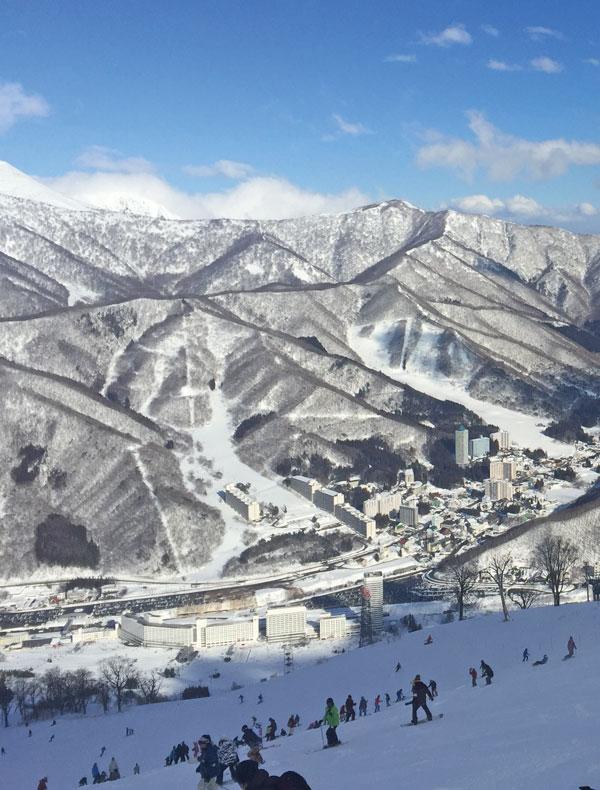 Naeba slopes