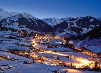 Gstaad by night