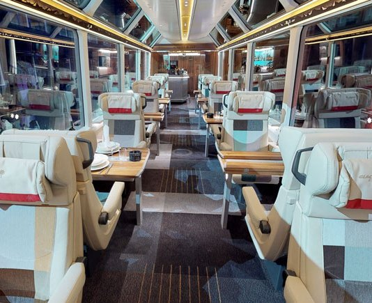 new Excellence Class Glacier Express