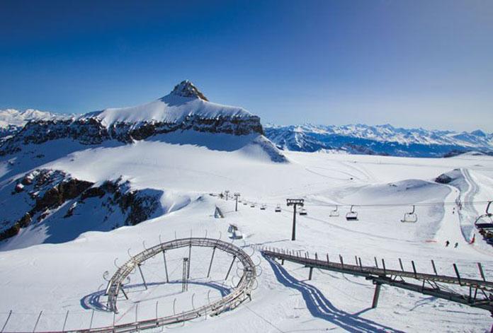 Glacier 3000 view
