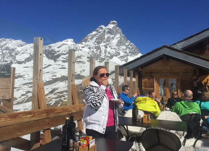 Lunch in Cervinia