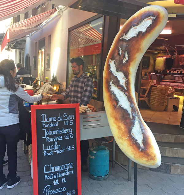 Street food Zermatt