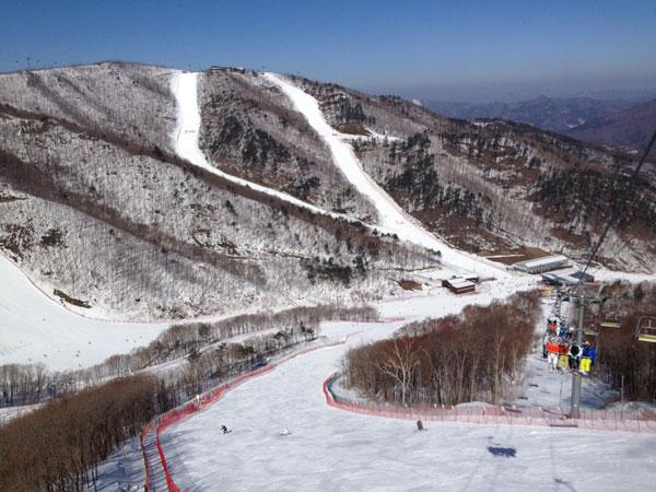 High 1 Resort skiing