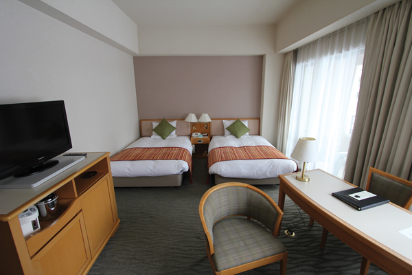 spacious rooms at Urabandai Grandeco Tokyu Hotel