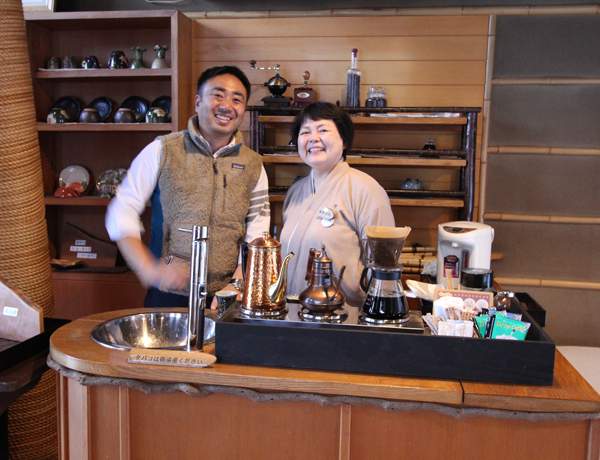 Bettai Senjuan Managing Director Hidehiro Kubo
